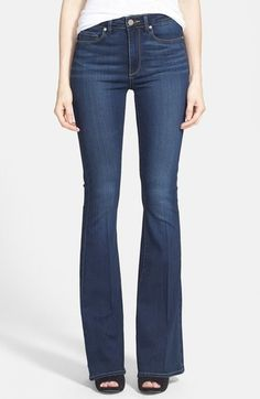 PAIGE 'Transcend - Bell Canyon' High Rise Flare Jeans (Nottingham)
