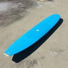 Custom noserider. 100% handmade with only resin by Neyra Custom Surfboards.