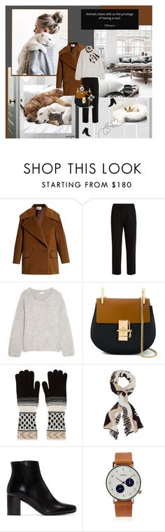 """""""My Darlings..., My Friends"""" by cybelfee ❤ liked on Polyvore featuring Oris, MaxMara, The Row, Chloé, Missoni, Yves Saint Laurent and Komono"""