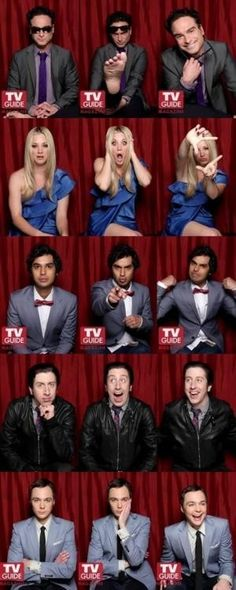 The Big Bang Theory - Sus personajes ...