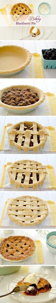 Bibury blackberry pie - Tarta de moras al estilo de la campiña inglesa
