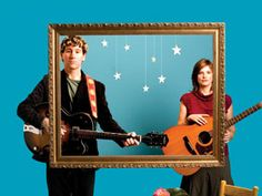 The Weepies..... Can't get enough of these cheerful harmonies, and clever lyrics!