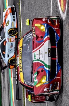 2017/5/5: Twitter:@AFCorse:. #WEC6hSpa ready to fight in second race @FIAWEC
