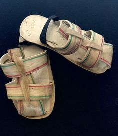 Baby Leather Gladiator Sandals