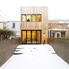 Brooklyn Row House | A 100+ year old row house given a complete renovation in New York, New York. Designed by Office of ArchitectureOffice of Architecture.