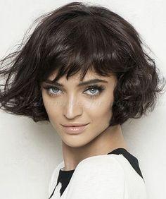 medium haircuts for wavy hair - Buscar con Google