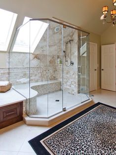 That shower though...