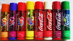 I love lipsmackers, i have the coca cola one.