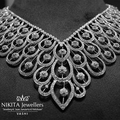 Make this gorgeous neck piece yours #today! Visit our store in #Vashi to witness more pieces as such!  #jewels #ornaments #accessories #indianweddings #traditional #weddingseason #ring #engagementring #necklace #earings #likeforlike #follow4follow #special  #instamood #deals #dealoftheday #bestdeals #jewellery #ethnic #bangles #earings #gold #navimumbai #beautifulyou  #special #betterhalf  #familygathering #gettogether #beauty #instalike