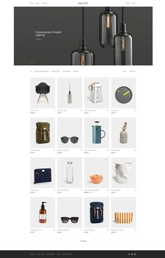12 thèmes WooCommerce pour réaliser votre premier e-commerce ! - Wordpress Minimal Theme - Ideas of Wordpress Minimal Theme - savoy-minimalist-ajax-woocommerce-theme Web Design Trends, Ecommerce Website Design, Web Ui Design, Design Blog, Page Design, Design Design, Ecommerce App, Graphic Design, House Design