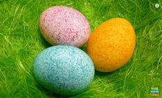 rice colored easter eggs