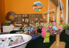 tips on craft fairs, how to display - good info