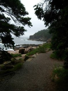 Acadia National Park, Maine - The park includes mountains, an ocean shoreline, woodlands, and lakes. In addition to Mount Desert Island, the park comprises much of the Isle au Haut, parts of Baker Island, and a portion of the Schoodic Peninsula on the mainland.