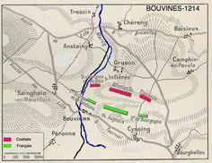 La cavalerie montée : Constituée de 3 ou 4 rangs de cavaliers formant une « bataille ». L'ensemble était constitué de petits groupes tactiques appelés « conrois » groupés autour d'une bannière représentant une famille ou un seigneur. On formait alors des blocs de cavaliers et de lances le plus serré possible.