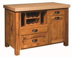 Amish Clic Mission Kitchen Island Wood Islands Furniture