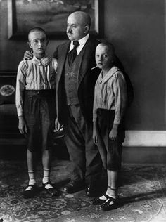 aww..those poor boys look so very miserable ...(August Sander) inspiration for Die Weisse Band ......