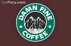 Coffee... Twin peaks style