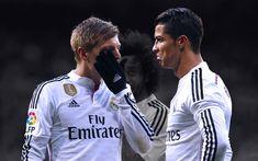 Télécharger fonds d'écran Toni Kroos, Cristiano Ronaldo, Pittsburgh, les stars du football, CR7, le football, le Real Madrid, Ronaldo, La Liga, Kroos, les gars