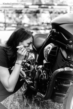 Motocyklowa sesja fotograficzna :) Photo by http://klaudiacieplinska.pl/