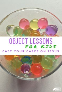 object lessons for kids