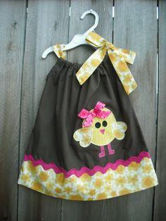 Easter pillowcase dress