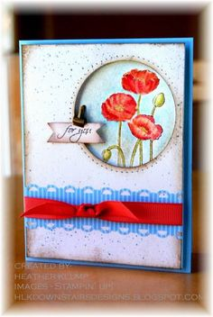 Poppies and CC379 by tankgrl - Cards and Paper Crafts at Splitcoaststampers