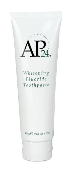 $20 AP-24® DIY White Teeth OMG this works! All natural Whitening Fluoride Toothpaste! NO BLEACH OR PEROXIDE! This gentle, vanilla mint formula freshens breath and provides a clean, just-brushed feeling that lasts all day.www.beautyboxbyjen.com