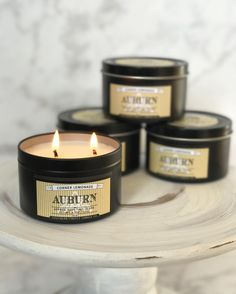 Calling all our Auburn loves: We are bringing this limited edition candle with us to @scarletandgoldshop on Tuesday November 1st! The best part? This candle is only $12!!! #yesplease       #southernfirefly #southernfireflycandle #handmade #shoplocal  #handpoured #surprises #wde