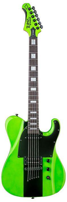 2015 Diamond Guitars Maverick ST in Hemi Green Guitar Stand, Guitar Shop, Music Guitar, Cool Guitar, Playing Guitar, Ukulele, Guitar Notes, Learning Guitar, Guitar Chords