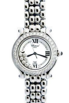 Chopard Happy Sport Diamond Steel Ladies Watch
