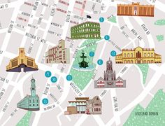 Auckland Free Walking map - Rosa Friend