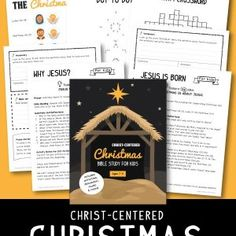 Help your kids discover the true meaning of Christmas - why Jesus came and the significance of His birth through Bible readings, reflection questions, vocabulary, scripture memory work, activities and more!