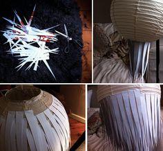 DIY paper lamp =]