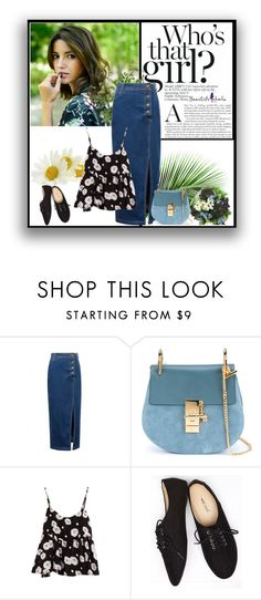 """""""Beautifulhalo29"""" by eddy-smilee ❤ liked on Polyvore featuring PLANT, Chloé, Wet Seal, Guide London, Diane James, women's clothing, women's fashion, women, female and woman"""