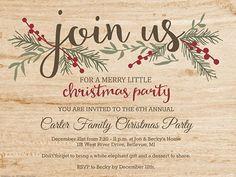Christmas Invitation Templates - Smilebox