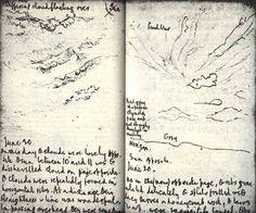 Clouds! in Gerard Manley Hopkins' journal