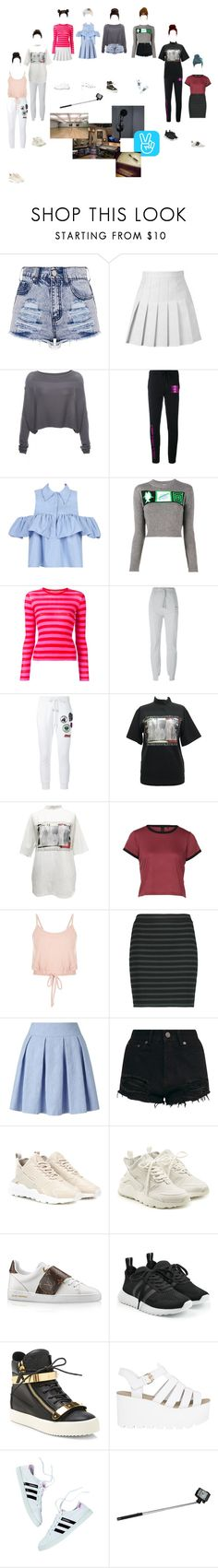 """V live"" by yaseumin ❤ liked on Polyvore featuring Sarah Pacini, Brashy, WithChic, Miu Miu, Ermanno Scervino, Vetements, Dsquared2, M.Y.O.B., T By Alexander Wang and Miss Selfridge"