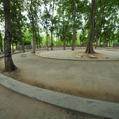 Buddhadasa Indapanno Archives by XSiTE Design Studio. Suan Mokkh court. Bangkok, Thailand