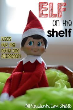 This post is filled with fun ideas for your elf on the shelf at home AND your elf in the classroom!