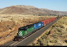 RailPictures.Net Photo: FURX 8131 First Union Rail (FURX) EMD SD40-2 at Roosevelt, Washington by Indecline