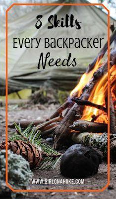 Girl on a Hike: 8 Skills Every Backpacker Needs