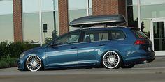VW Golf Sportwagen Rotiform