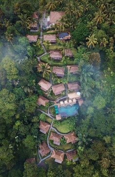 Bali Travel Guide on where to eat, pray, love - Destination Deluxe Bali Resort, Resort Villa, Jungle House, Forest House, Beach Resorts, Hotels And Resorts, Resort Plan, Jungle Resort, Saint Georges