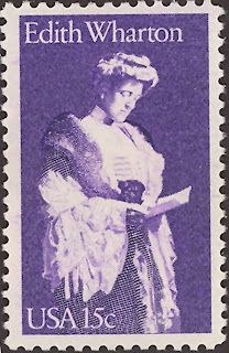 Literary Stamps: Wharton, Edith (1862 –1937)