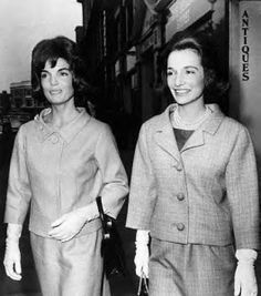 Jackie and her sister Lee in NYC.