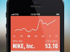Simple stock viewer. by Pirooz Pourmand