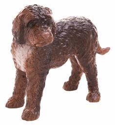 John Beswick Chocolate Cockapoo Standing Dog Ceramic Figure Ornament JBD78