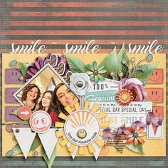 kimeric kreations: Just Smile - new this week...a wonderful cluster and TDC is having a CT call!