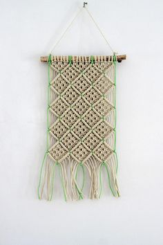 A beautiful bohemian inspired handmade macrame wall hanging. Use this wall hanging to a new vibe to your home, office or cabin. Product details: 100% cotton 3 strand twisted cotton rope on handpicked Dutch driftwood. Width of the drift wood is aproximately 40cm. Length of the wall