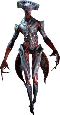 Summoner [Arch-Vile] from Doom Doom 4, Doom Game, Alien Creatures, Fantasy Creatures, Humanoid Creatures, Creature Concept Art, Creature Design, Doom Demons, Doom 2016